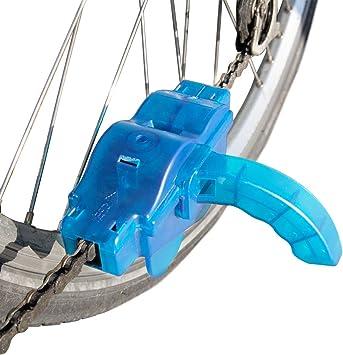 MMOBIEL Aparato de Limpieza (Limpiador) para Cadena de Bicicletas/Mountain Bikes con Cepillos Rotatorios.: Amazon.es: Deportes y aire libre