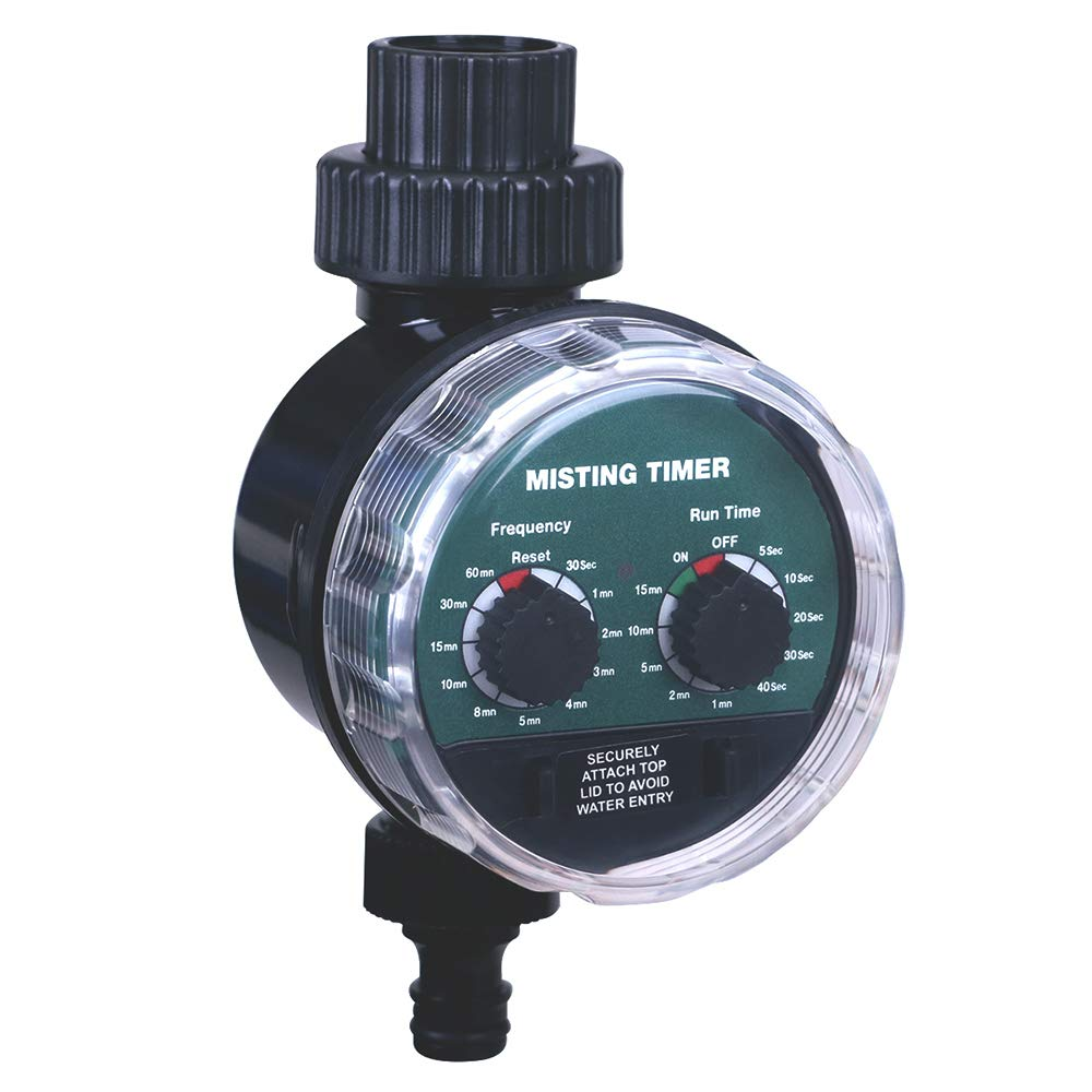 Battery Operated Ball Valve Electronic Water Timer Garden Irrigation Controller
