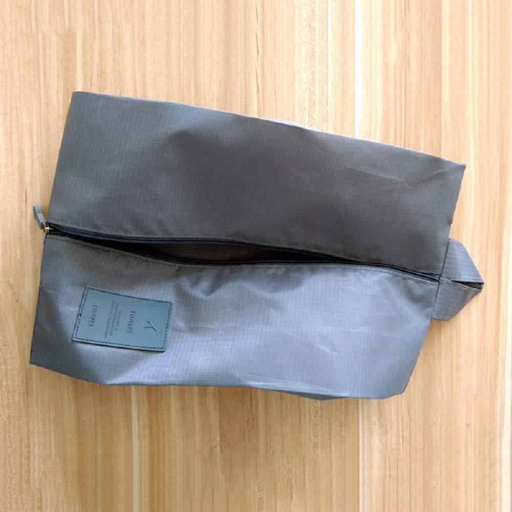 Oxford-Schuhbeutel mit Rei/ßverschluss Aufbewahrungstasche f/ür Make-up tragbar Badekleidung PanShui Reise-Schuhbeutel wasserdicht