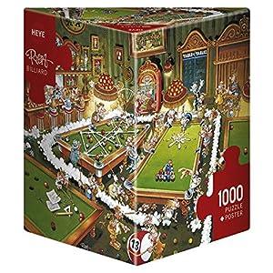 Heye Puzzle Biliardo 1000 Pezzi Multicolore 29232