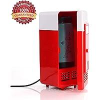 Lychee Mini Nevera Electrica USB Refrigerador Silenciosa Portátil