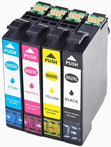 Caidi 502xl - Cartuchos de Tinta compatibles con Epson 502 XL ...