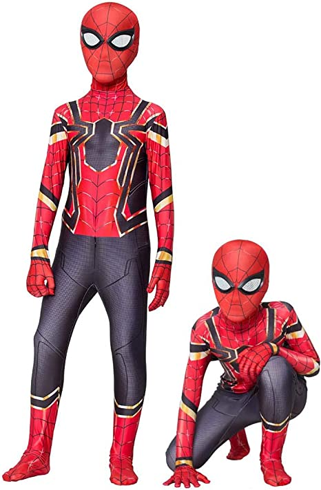 GLZTY Disfraz de Spiderman, Halloween Mono de Superheroe de ...