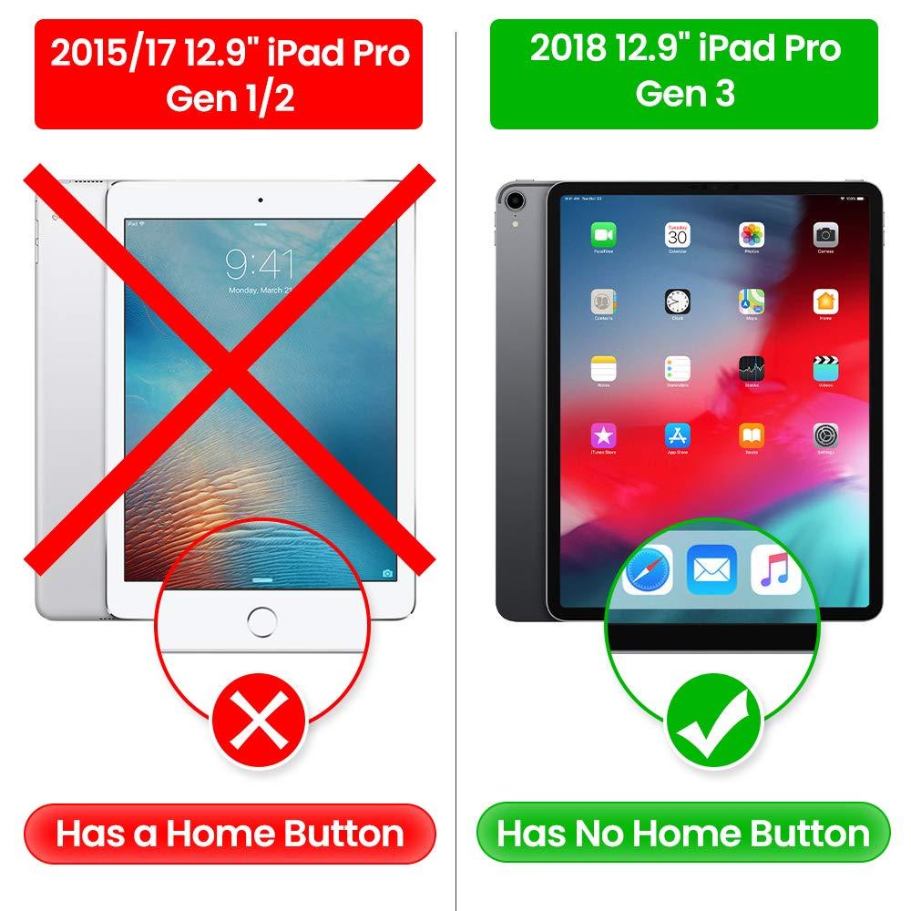 iPad Pro 7,9 iPad Mini 2019 tomtoc Schultertasche kompatibel mit 12,9 Zoll Neu iPad Pro 2018 Laptop H/ülle Aktentasche Tragetasche mit Griff und Zubeh/örtasche f/ür iPad 11 10,5 Neu iPad Air