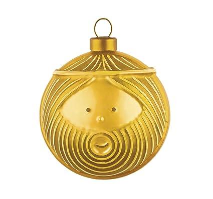 Alessi Bolas de Navidad, Dorado