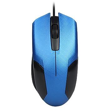 Ratón juego sammoson 1600DPI 3d óptico USB Guidato precableado Gaming Ratón Ratones para PC del ordenador portátil scorrere multicolor turquesa: Amazon.es: ...