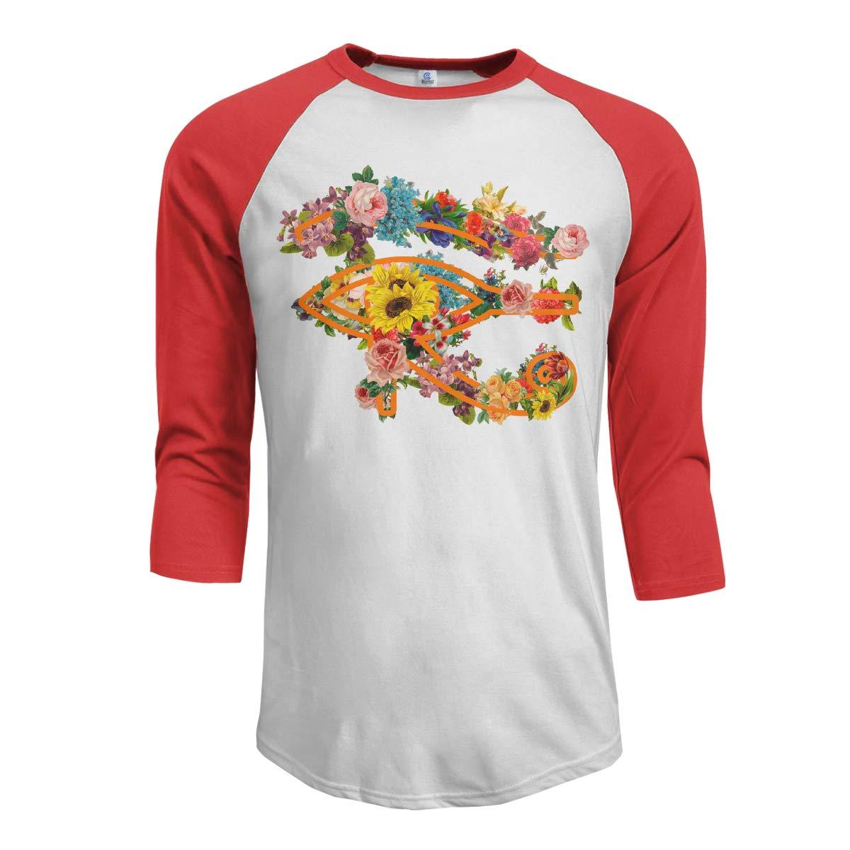 3//4 Long Sleeves Boys Jersey Tee Shirt Black MiiyarHome Mens Raglan Sleeves Baseball T-Shirts Home Pyramid