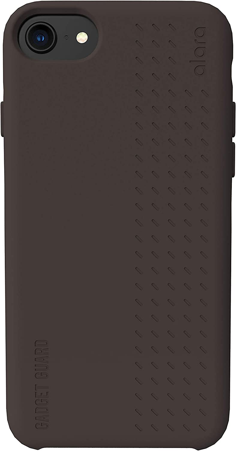 Gadget Guard Anti-Radiation Slim Case for iPhone with Alara Technology (Charcoal) (iPhone SE)