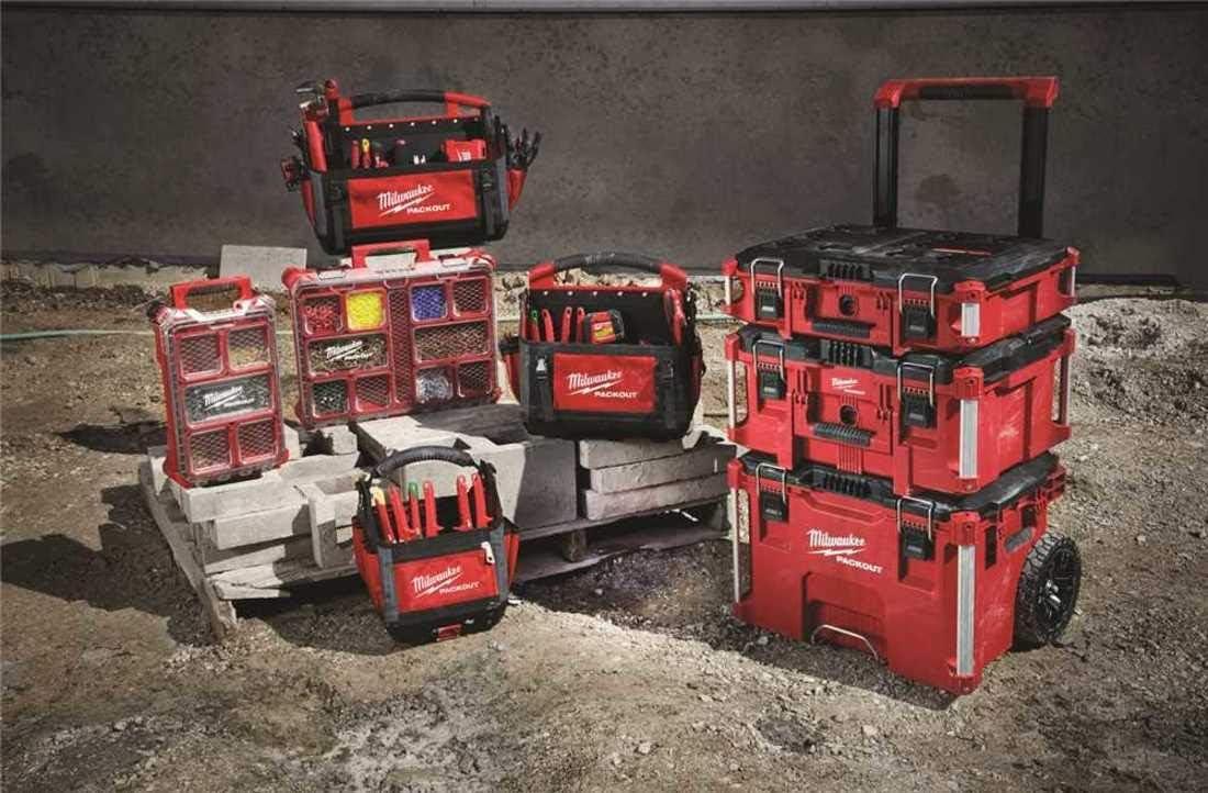 48-22-8430 Packout, 10 compartimentos, organizador de piezas pequeñas: Amazon.es: Bricolaje y herramientas