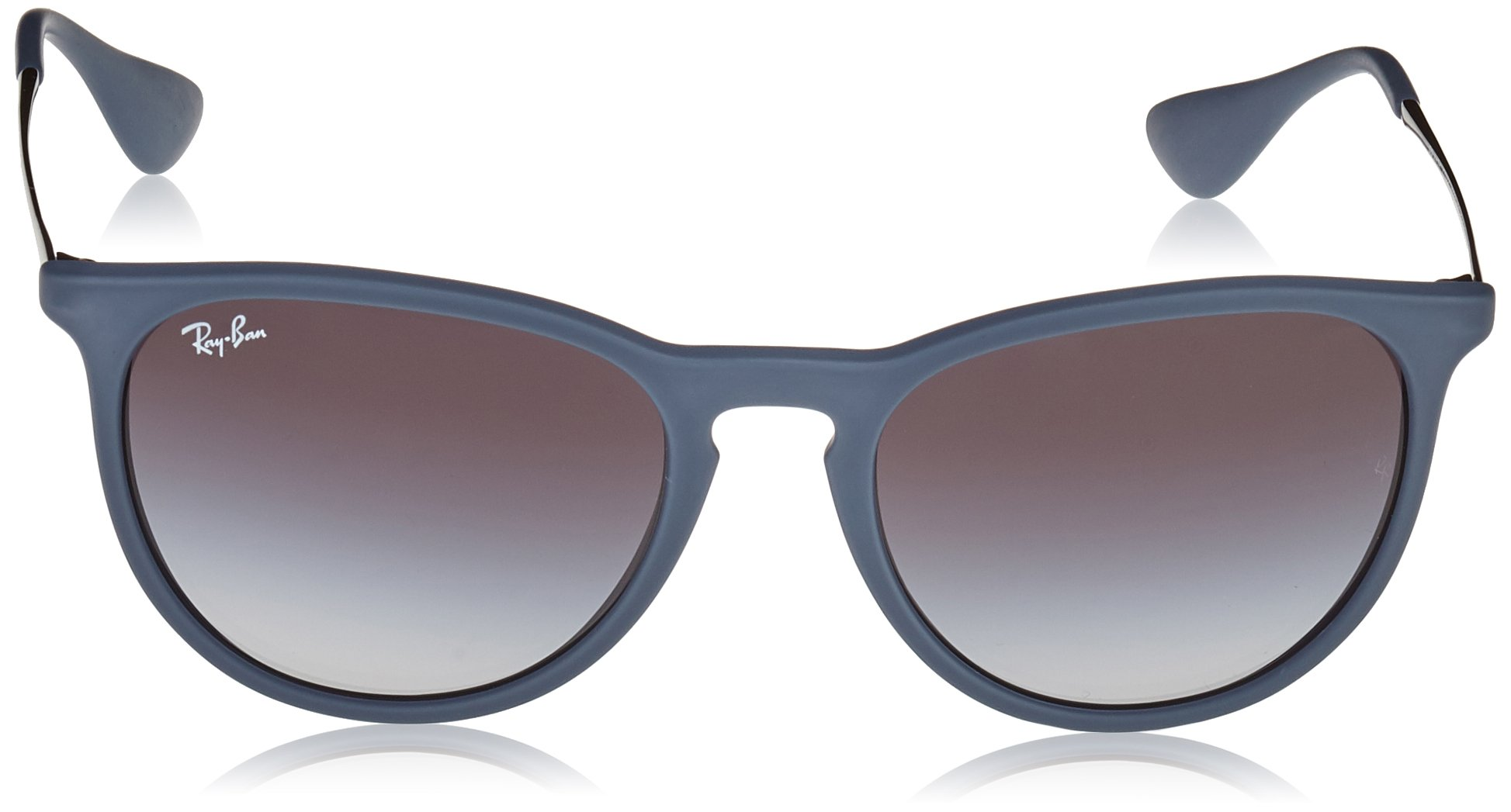 4599fb2de17 Ray-Ban ERIKA - RUBBER BLUE Frame GREY GRADIENT Lenses 54mm Non-Polarized -  0RB4171-60028G   Sunglasses   Clothing