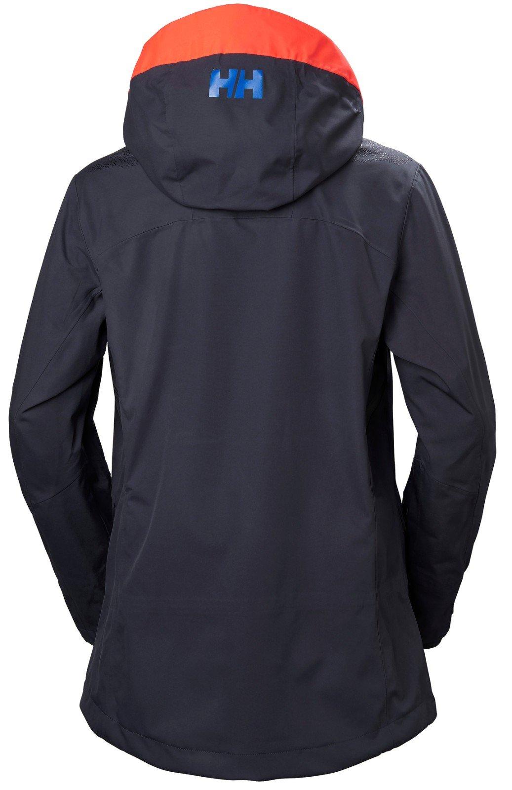 Helly Hansen Women's Aurora 2.0 Waterproof Shell Ski Jacket, Graphite Blue, Large by Helly Hansen (Image #1)