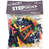 Pride Golf Tee 1-3/8 inch 50 Count Way Short STEPSTIXX