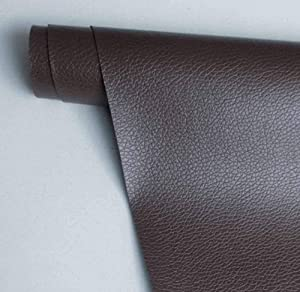 5 Pieces Leather Repair Tape Self-Adhesive Leather Repair Patch for Couch, Car Seats, Handbags, Furniture (Dark Brown)