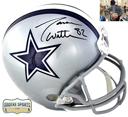 super popular f759c 1a5c2 Amazon.com: Jason Witten Autographed/Signed Dallas Cowboys ...