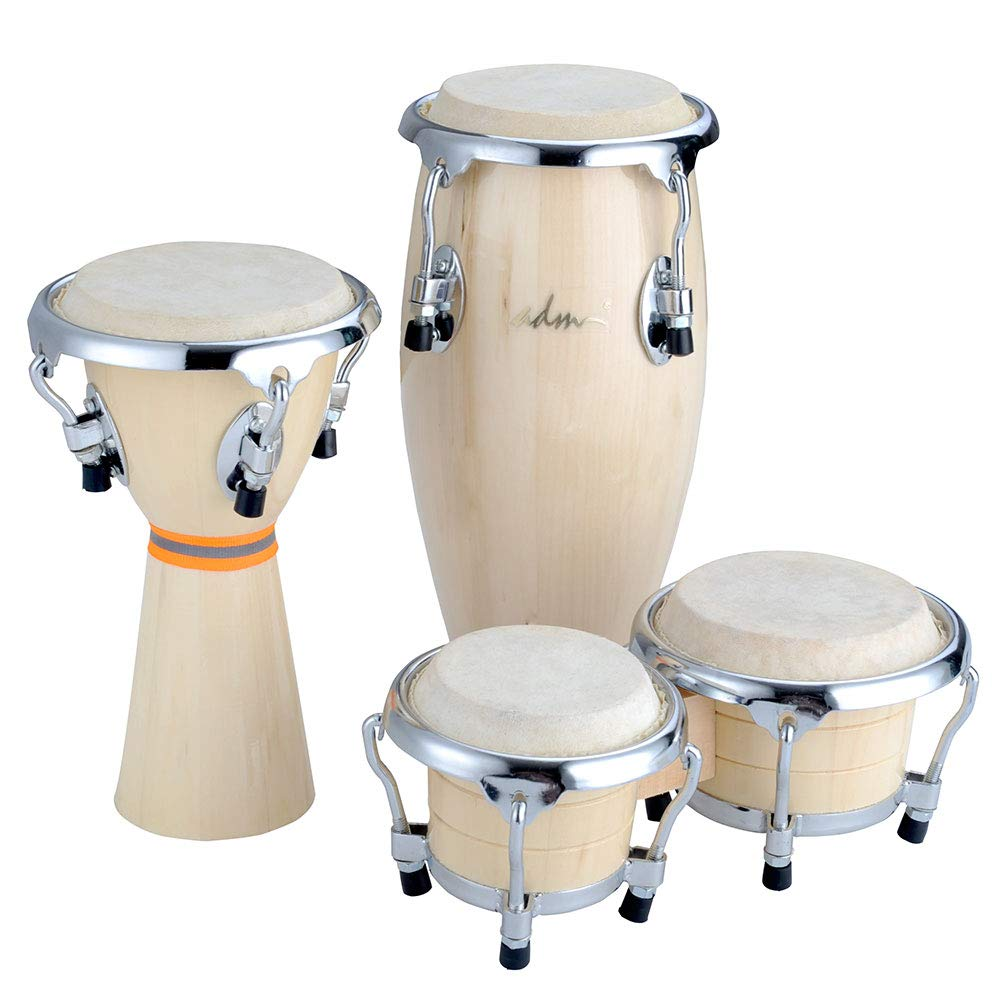 ADM Drums Mini Bongo African Drums Mini Conga GMNP01
