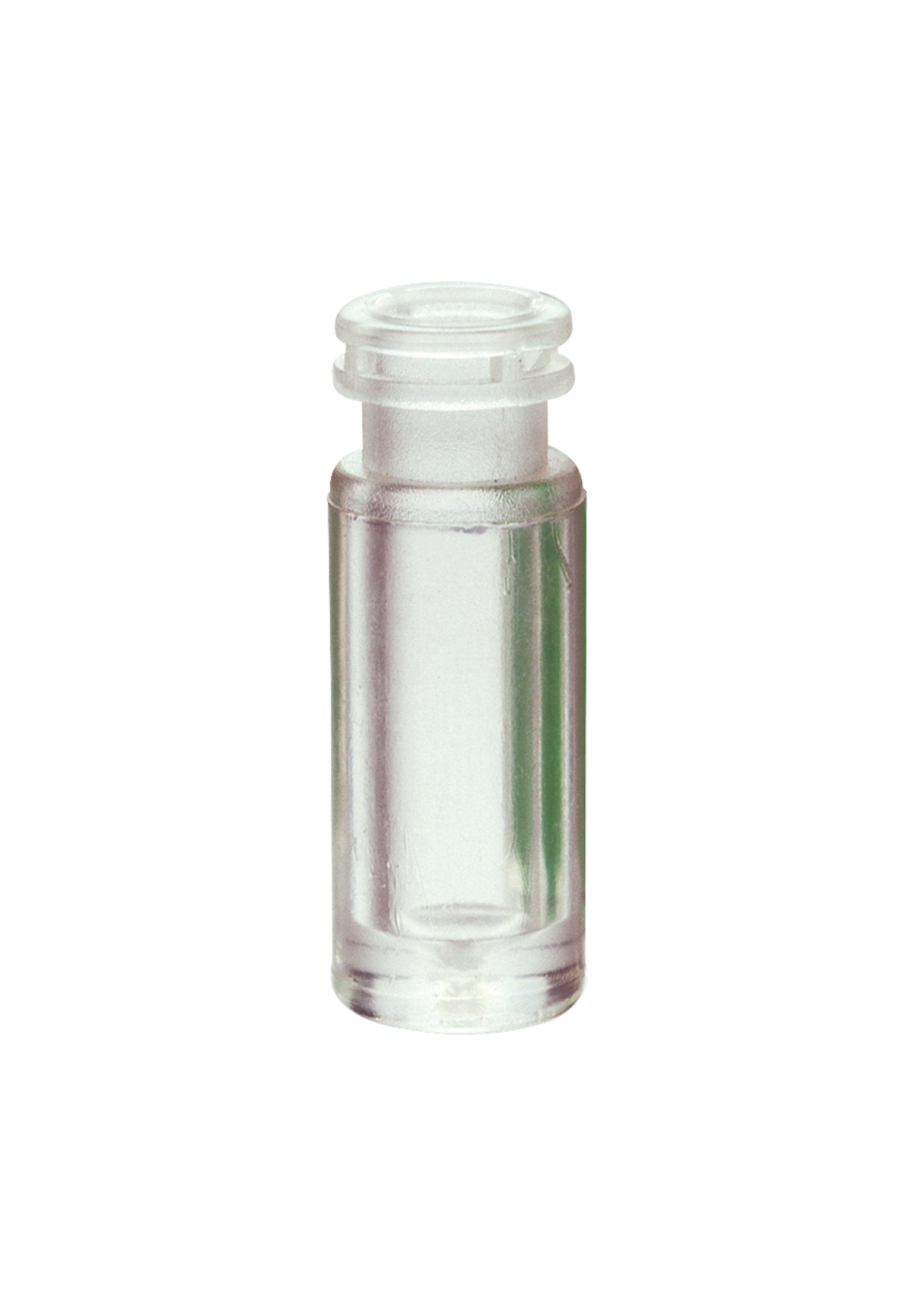National Scientific Clear Glass Top Vial, Flat Base, 11mm Crimp Top, 12mm Diameter x 32mm Height (Case of 100)