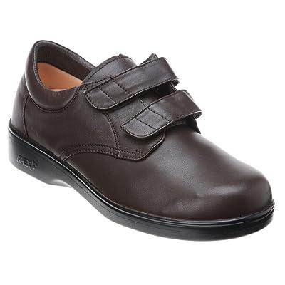 Amazon.com | Aetrex Men's Ambulator Conform Double Strap Velcro Shoes | Fitness & Cross-Training