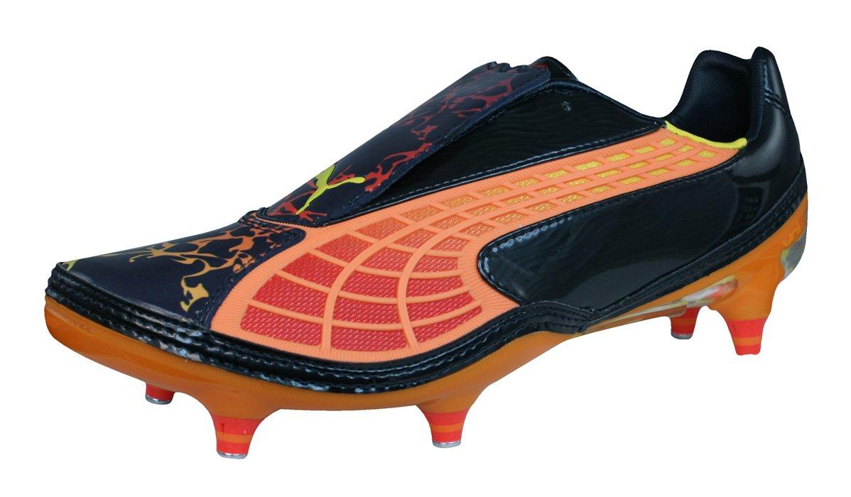 Puma V1.10 Tricks SG Mens Leather Soccer Boots/Cleats-Black B00WZP330M 11.5 D(M) US|Black