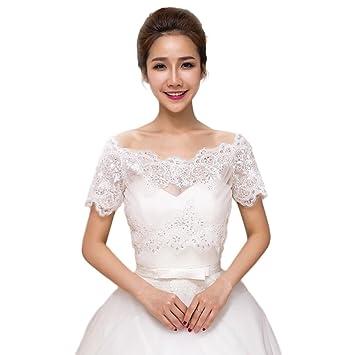 Chaqueta vestido de novia