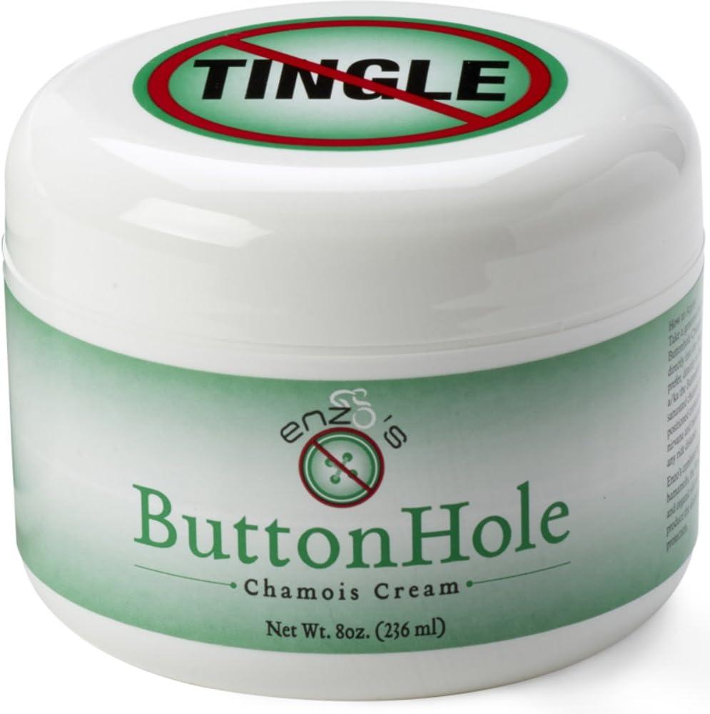 Enzo's Button Hole Chamois Cream Tingle Free