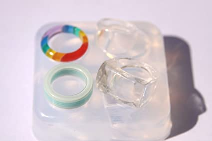 Amazon com: Moulds for epoxy resin rings - Silicone mould
