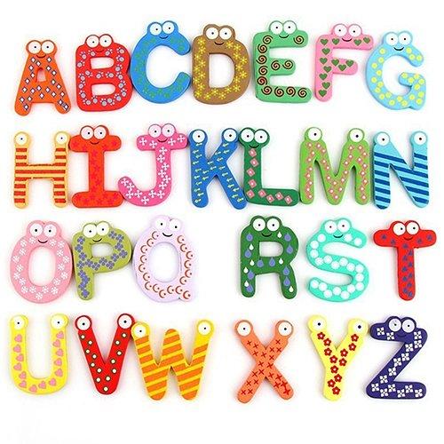 円高還元 Afco J00Z1N5U85 赤ちゃん 子供 子供 教育玩具 B07H9BY66W アルファベット26文字 A-Z 木製 幼児用おもちゃ J00Z1N5U85 カラフル B07H9BY66W, 美馬郡:382c10c5 --- a0267596.xsph.ru