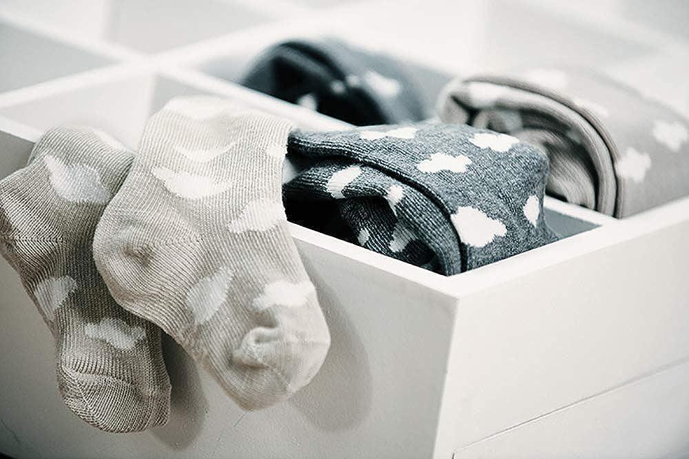 und Kinderstrumpfhose f/ür M/ädchen und Jungen Wolken Strumpfhose Baumwolle Made in Europe Ewers Baby