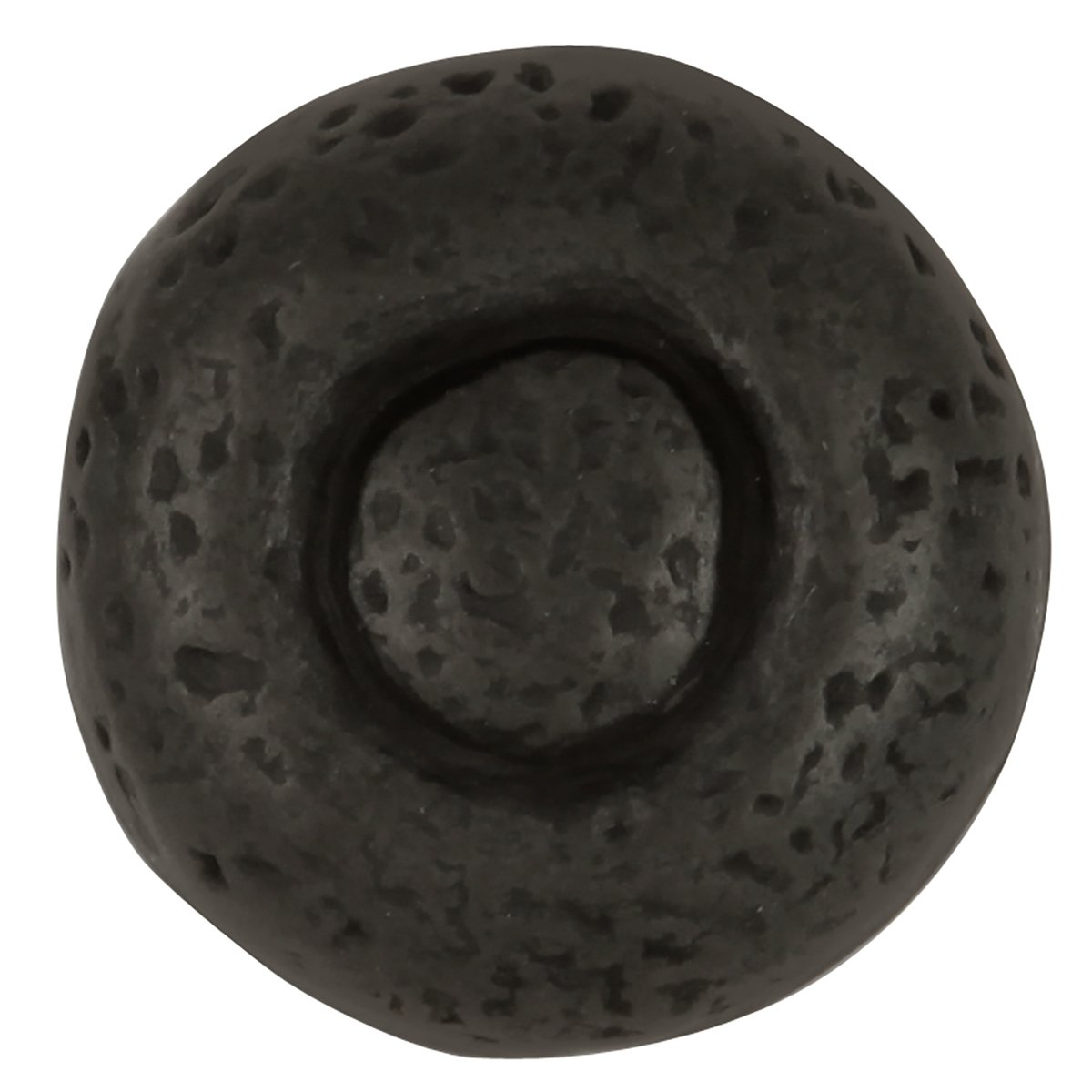 Hickory Hardware P3003-BI-25B Refined Rustic Collection Knob, 1-1/2 Inch Diameter, Black Iron, 25 Each by Hickory Hardware (Image #3)
