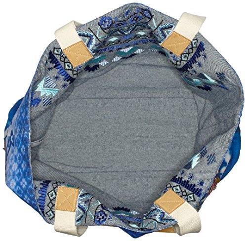 x ALTEA 5000 Sac cm Desigual Turner B Femme Bleu x BOLS 16x39x50 H T 7x5Yqw1