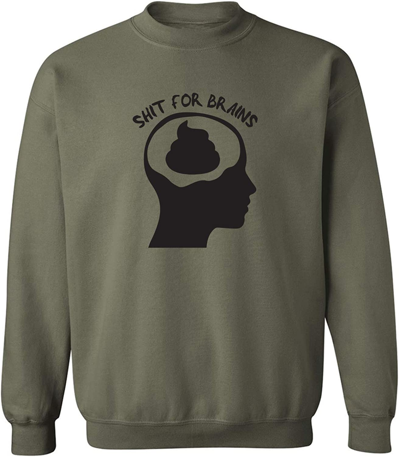zerogravitee Shit for Brains Crewneck Sweatshirt