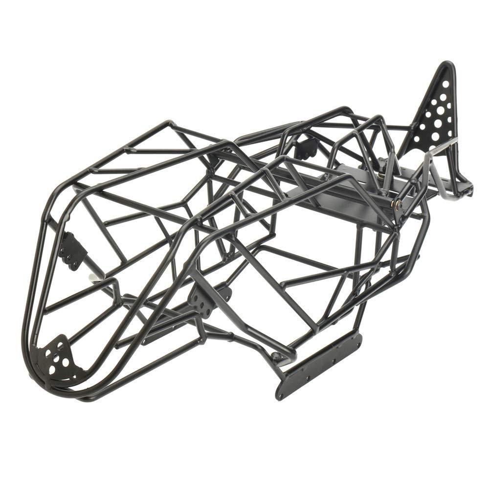 VIDOO Steel Roll - Telaio per carrozzeria per 1 10 Axial Wraith Crawler LKW Rc