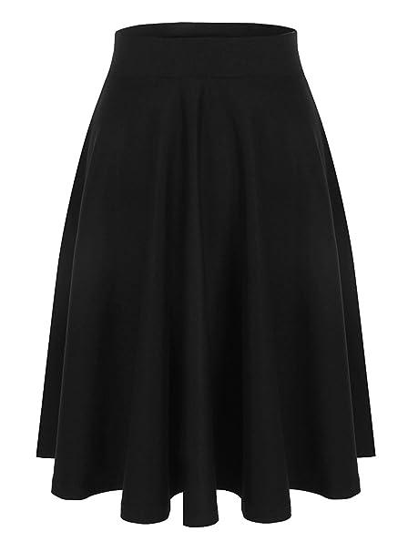 74f50cd9f28 Emma   Giovanni - Women s A-Line Midi Skirt  Amazon.co.uk  Clothing