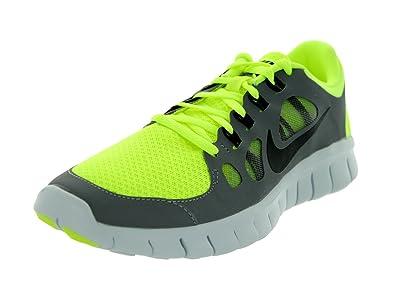 huge discount 031d3 86ea3 Nike Kids Free 5.0 (GS) Volt Black Cool Grey Pr Pltnm