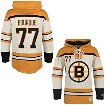 OTH Boston Bruins Ray Bourque Lacer Jersey Hoodie NHL Sweatshirt XL ... e5342adf931