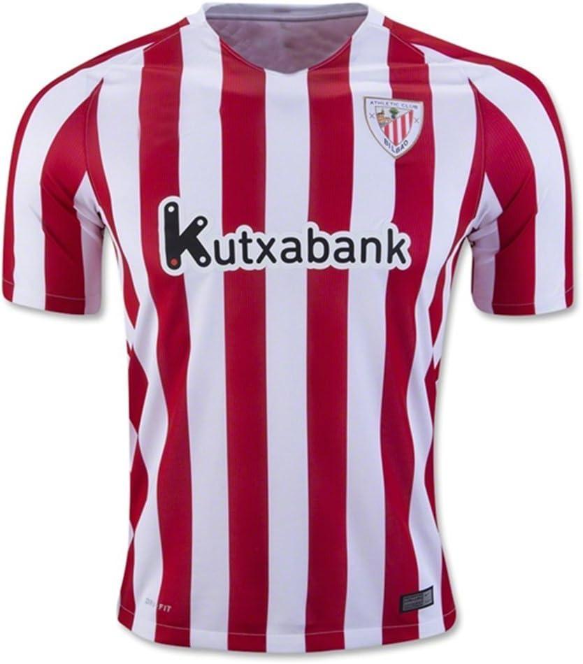 2016 2017 Nueva camiseta de fútbol Athletic Bilbao 16 17 Inicio Red: Amazon.es: Deportes y aire libre