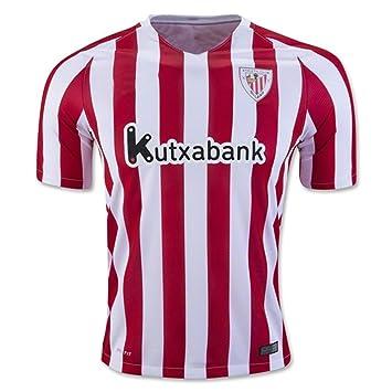 2016 2017 Nueva camiseta de fútbol Athletic Bilbao 16 17 Inicio Red  Amazon. es  Deportes y aire libre d5449466f71ab