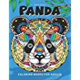 Panda Coloring Book: for Adults Fun, Beautiful Panda Stress Relieving Unique Design