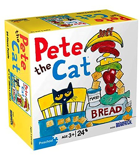 Pete the Cat Big Lunch 24-Piece Puzzle