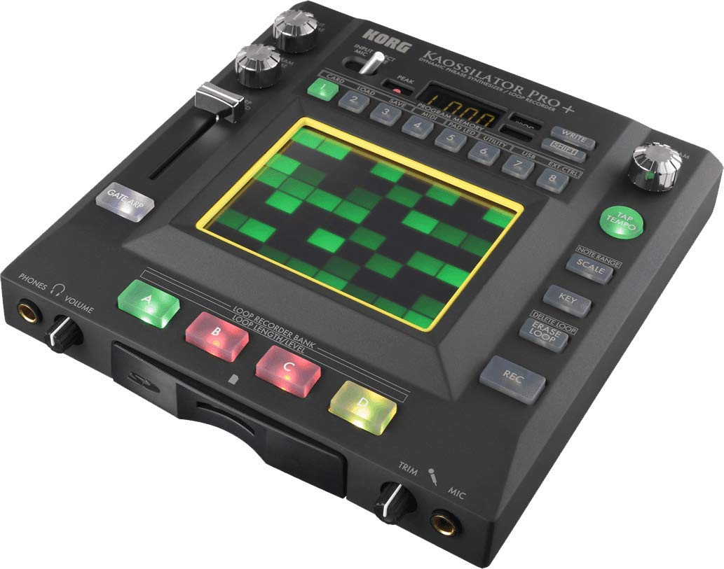 Korg Kaossilator Pro+ Dynamic Phrase Synthesizer and Loop Recorder by Korg