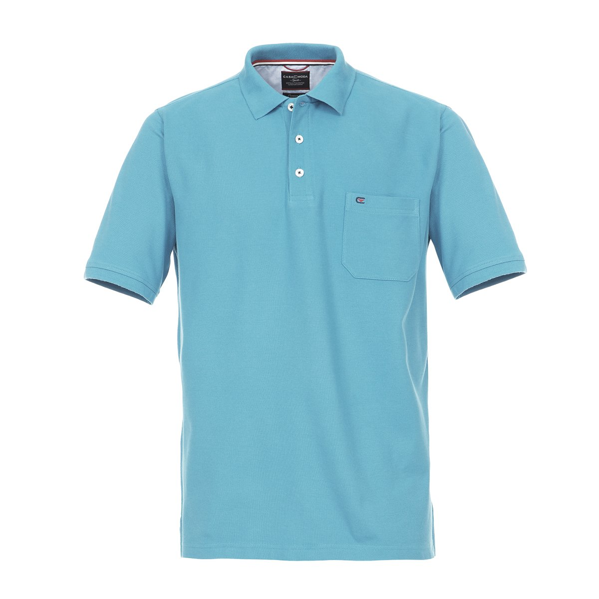 Casamoda Camiseta Polo Celeste en Tallas XXL, 2xl-8xl:4XL: Amazon ...