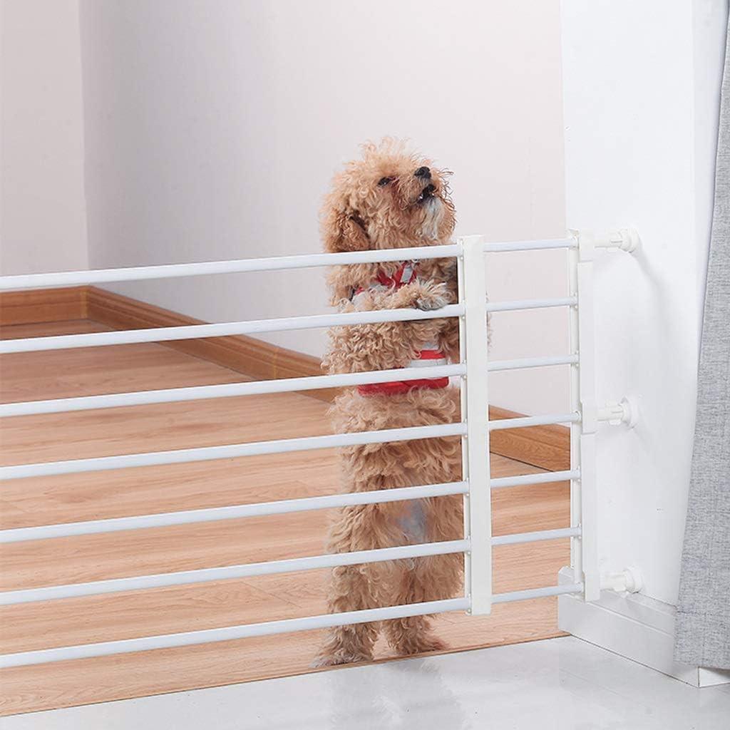 Extensible Barrera de Seguridad del Animal Doméstico, La Presión de Montaje for Escalera Chimenea Aislamiento Barrera (Color : Height 42CM, Size : Length 56-100cm): Amazon.es: Hogar