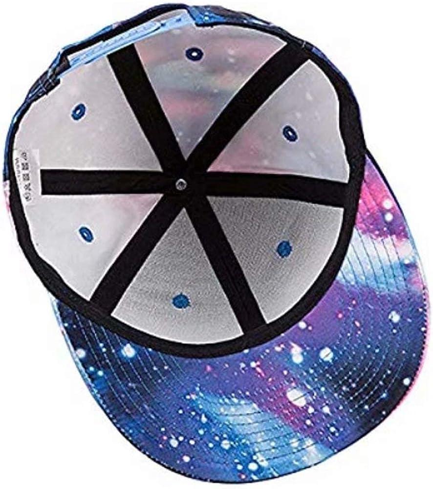 I Smell Fear On You Unisex Galaxy Snapback Hat Adjustable Starry Sky Baseball Cap Outdoors Boys Girls