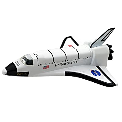 NASA Space Shuttle Pullback 8 inch - No Retail Packaging: Toys & Games