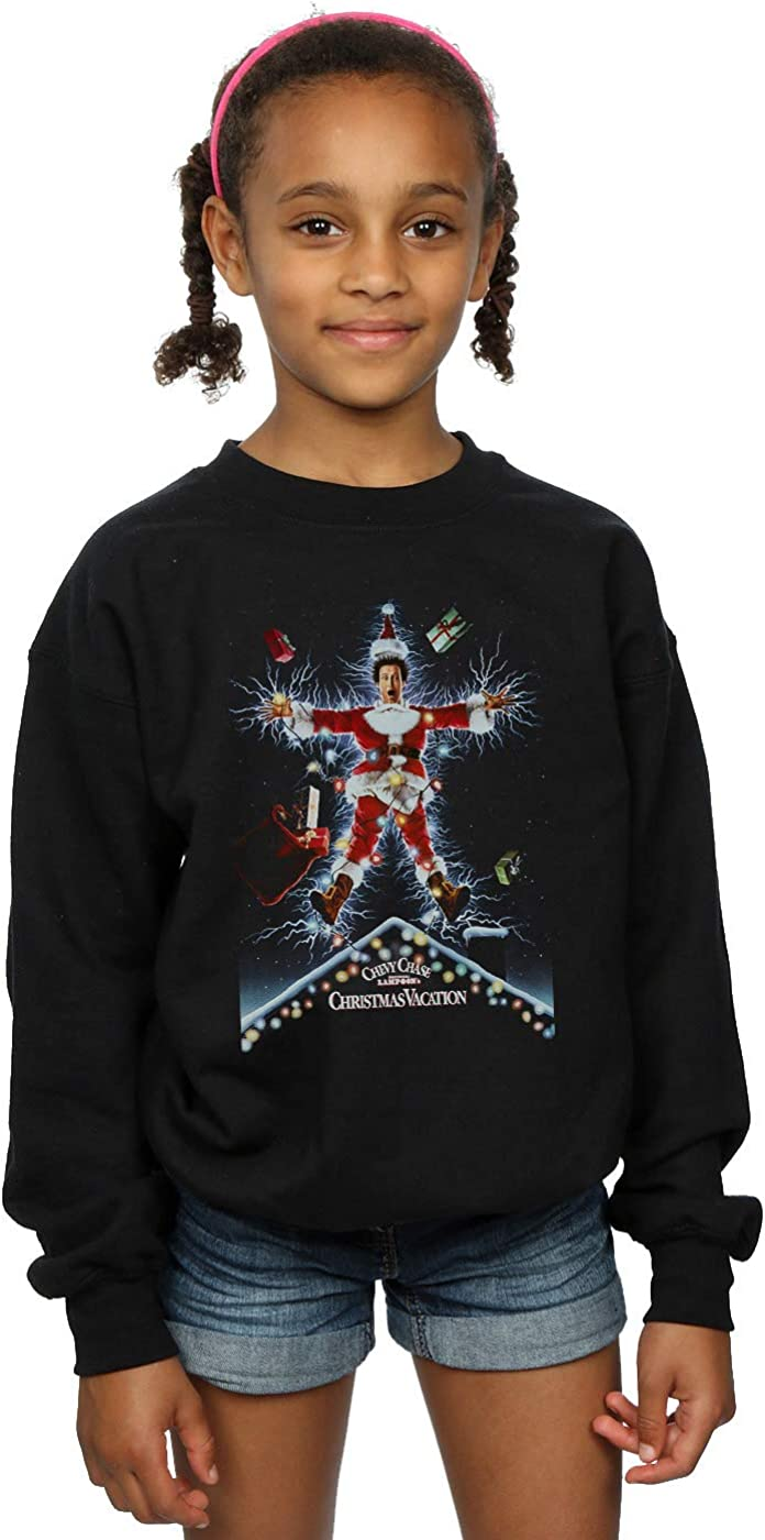 National Lampoons Girls Christmas Vacation Poster Sweatshirt