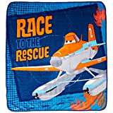 Disney/Pixar Planes Fire and Rescue Throw Blanket, Smoke Jumper 50' x 60'