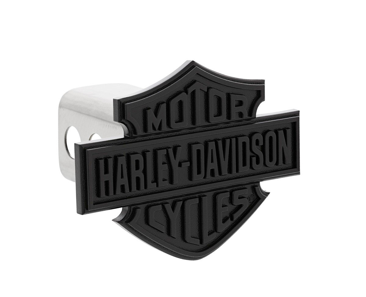 King Ranch est 2 inch Post 1853 Wordmark Chrome Plated Trailer Hitch Cover Plug