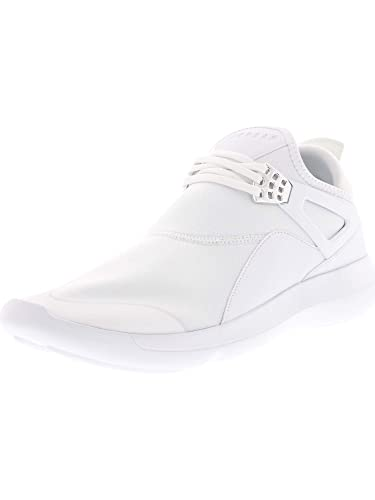 8ac0a582f77711 Image Unavailable. Image not available for. Color  Jordan Mens Fly 89  Fashion Sneakers (White White-White-Chrome ...