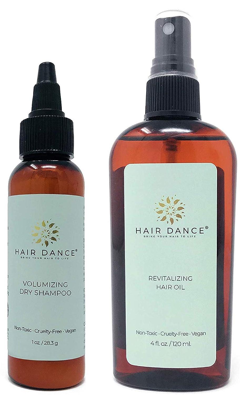 Dry Shampoo Volume Powder 100% Natural & Organic Jumbo size. For Dark and Blonde Hair Hair Dance