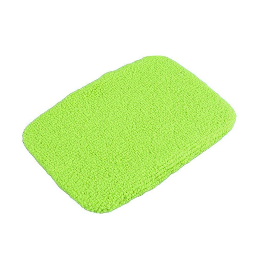 RoadRoma 1 unid Viuda pa/ño de Microfibra cepillos de Lavado de Coches Cuerpo del Coche Ventana Vidrio limpiaparabrisas Verde