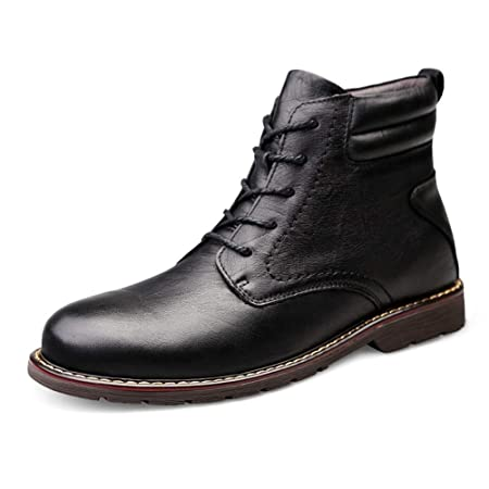 Apragaz Botines de Hombre Zapatos de Trabajo clásicos de ...